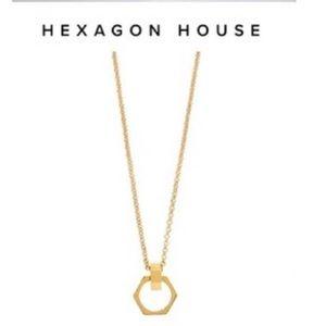 """INDIA HICKS """"Hexagon House"""" Necklace - 32"""""""